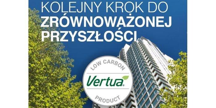 Niskoemisyjny cement Vertua® w ofercie CEMEX