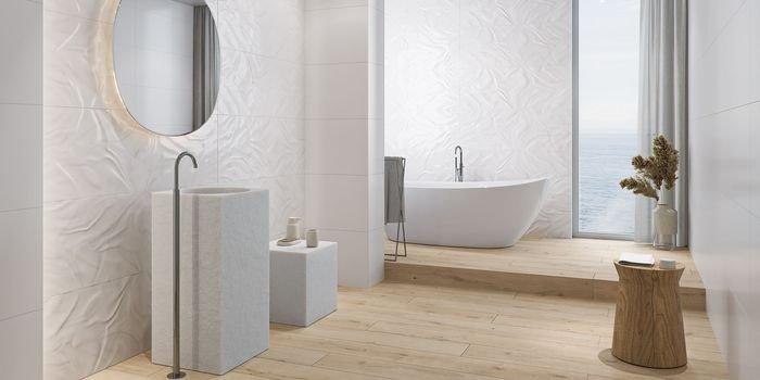Mała łazienka w wielkim stylu