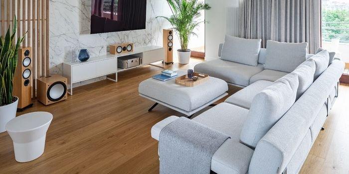 Klimatyczne mieszkanie – przystań dla pary melomanów
