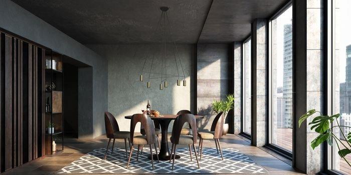 Designerskie lampy w mosiężnej odsłonie