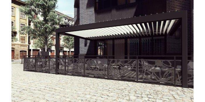 Pergole tarasowe do przestrzeni publicznych