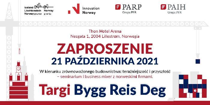 Zaproszenie: seminarium i business mixer – 21 października 2021 r. w Lillestrøm