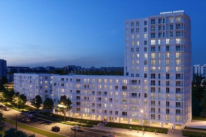 Rośnie zainteresowanie większymi mieszkaniami Fot. Biały Dom na warszawskim Tarchominie