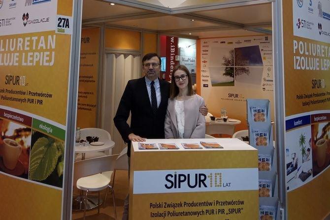 """Związek """"SIPUR"""" uczestniczył w Międzynarodowych Targach Budownictwa i Architektury BUDMA 2019Fot. SIPUR"""