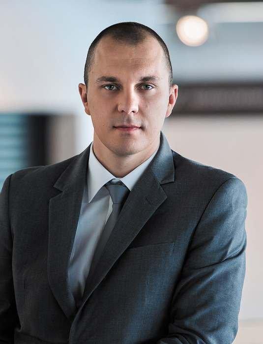 Marcin Strzelec, menedżer grupy produktowej Bramy Garażowe i Przemysłowe, Stolarka, Automatyka, WIŚNIOWSKI