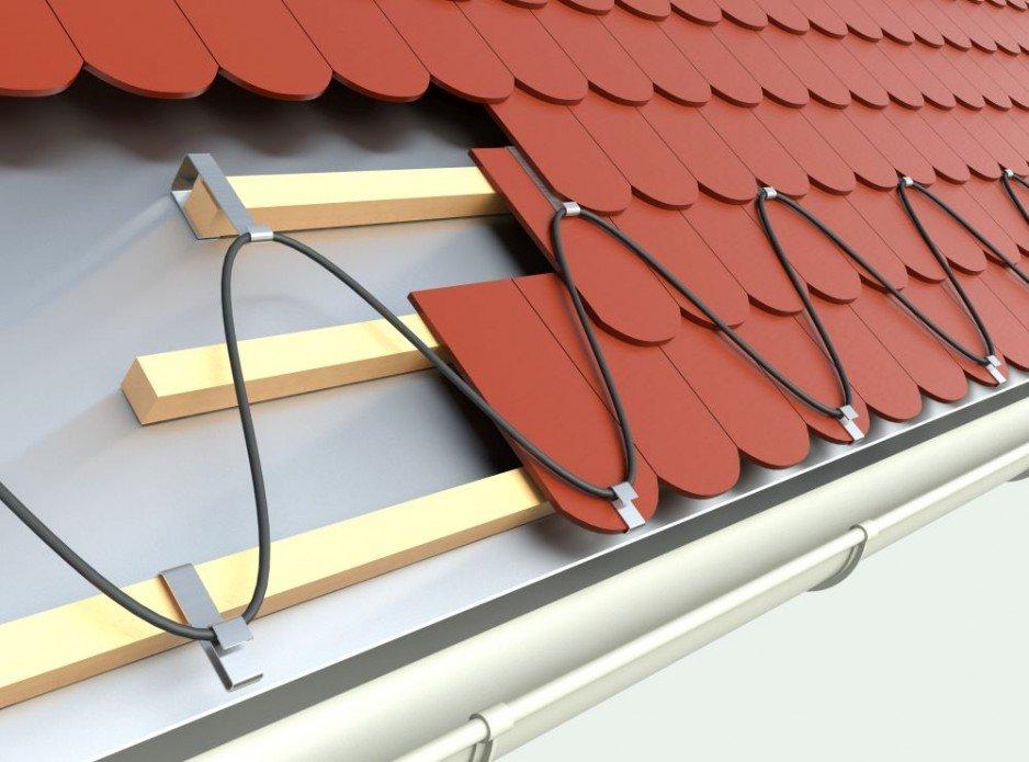 Systemy przeciwoblodzeniowe Elektra - dach
