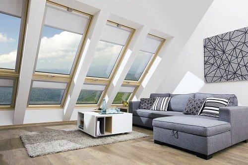 Okno balkonowe Fakro