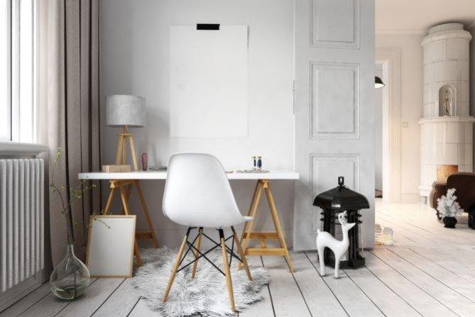 Jak urządzić wnętrze w stylu skandynawskim? Fot. AleRabat.com