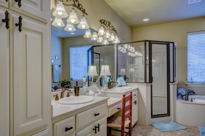 Łazienka w stylu retro - inspiracje i pomysły