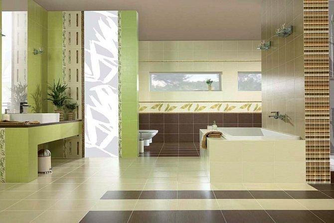 Łazienka przeznaczona do celów kąpielowych, wyposażona w wannę lub brodzik, stanowi pomieszczenie o zwiększonym zagrożeniu porażenia prądem elektrycznym.Fot. Ceramika Paradyż