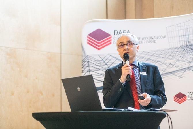 Prezes zarządu Stowarzyszenia DAFA Piotr Olgierd Korycki Fot. DAFA