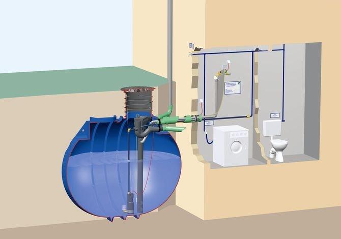 Pompa ciśnieniowa z systemem do awaryjnego uzupełniania zbiornika