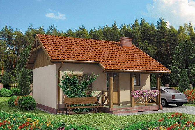 Projekt domu letniskowego Riobamba Fot. domowy.pl
