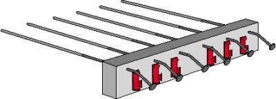 Rys. 1. Systemowy element wspornikowy balkonu z ociepleniem