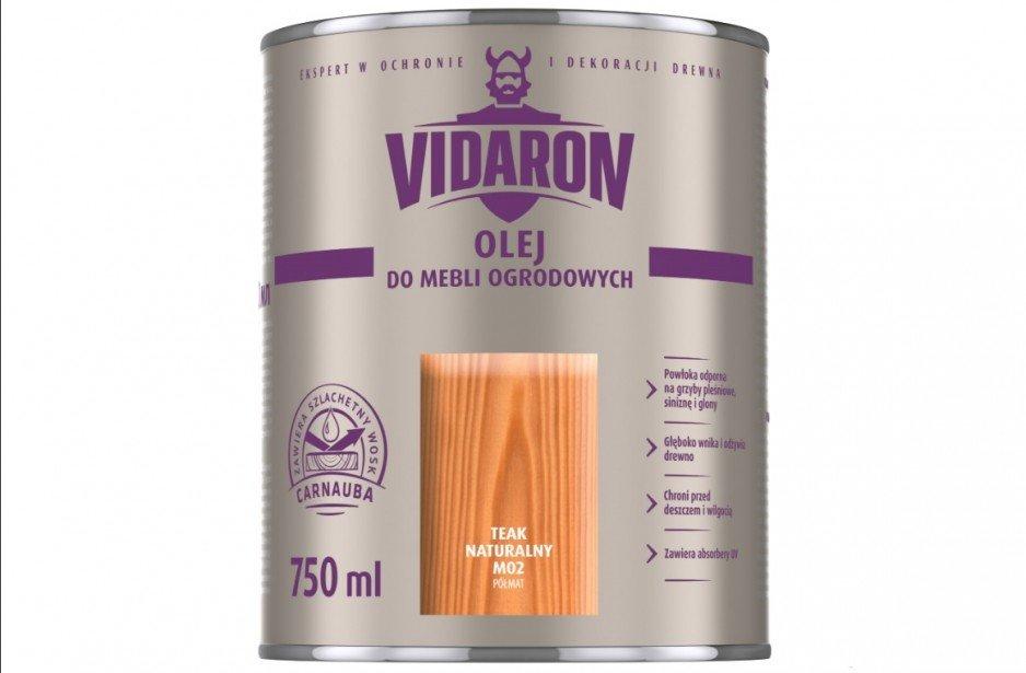 Vidaron - olej do mebli ogrodowych