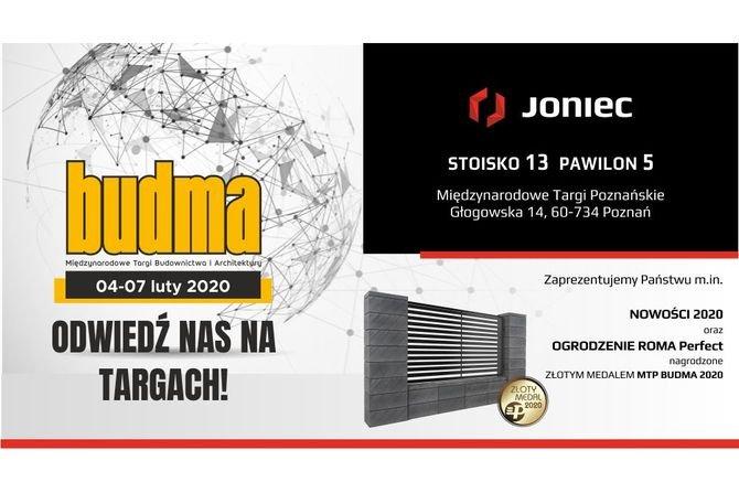 Firma JONIEC® na targach BUDMA 2020