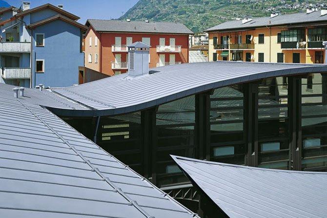 dach na rabek podwojny rheinzink 2
