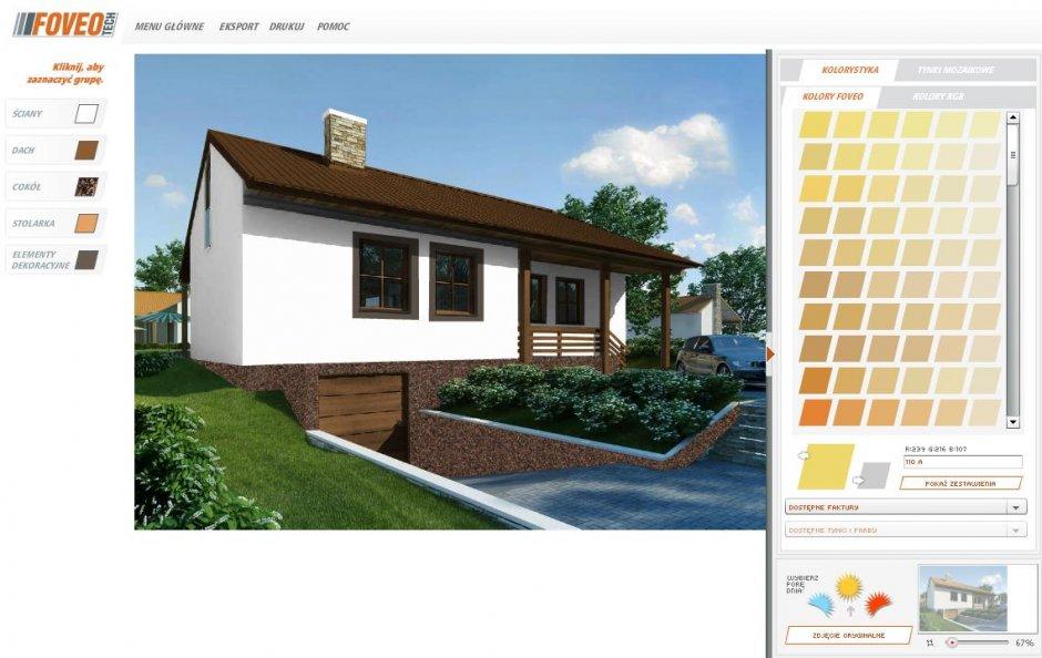 foevo aplikacja kolorowanie fasad