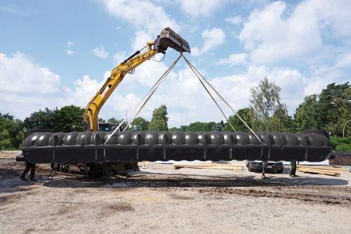 Zbiorniki do gromadzenia i wykorzystania wody deszczowej MPI