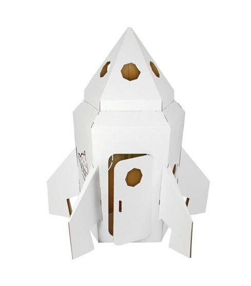 rakieta z tektury