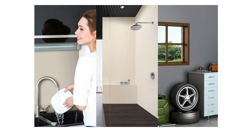 Jak pomalować ściany w kuchni, łazience i garażu?Fot. V33