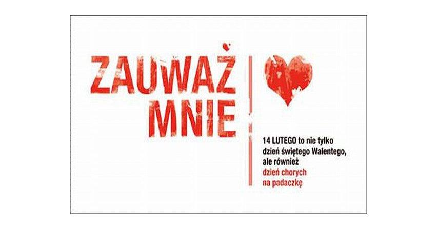 """Celem akcji """"Zauważ mnie"""" jest zwrócenie uwagi społeczeństwa i mediów na osoby chore na padaczkę. Fot. www.zauwazmnie.org"""