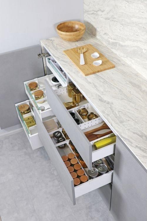 Przechowywanie produktów spożywczych - kuchnia
