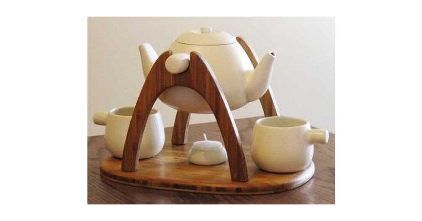 """Zestaw """"Tea for two"""" Fot. freshome.com"""