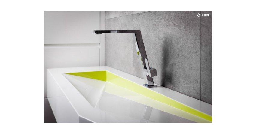 Kompozytowe umywalki na wymiar Fot. Luxum