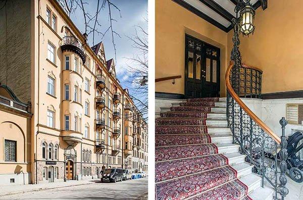 mieszkanie sztokholm akeppsholmen