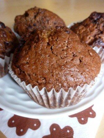 mega czekoladowe muffinki