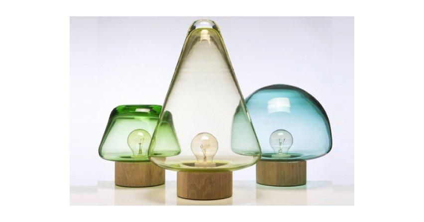 Inspiracją lamp są lasy Magnor Glassverk. Skog w języku norweskim oznacza las. Fot. Magnor Glassverk
