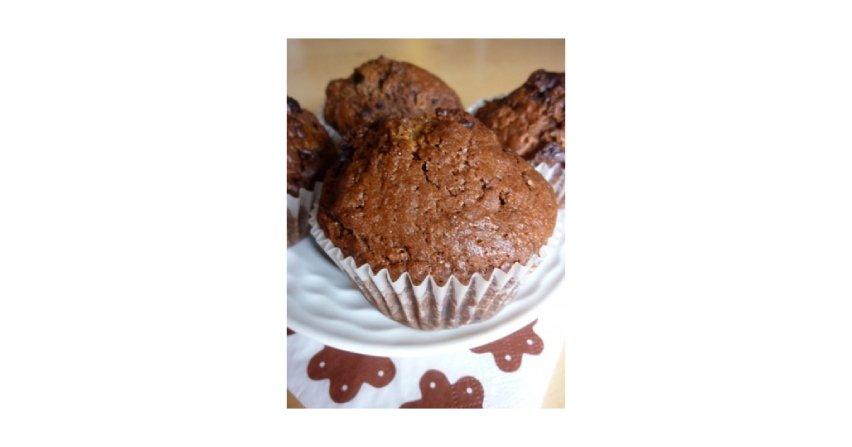 Mega czekoladowe Muffiny Fot. RHCC