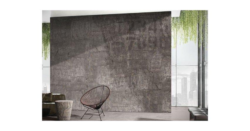 Surowe piękno ścian - grafiki wielkoformatowe w industrialnym klimacie Fot. Glamora/Dekorian Home