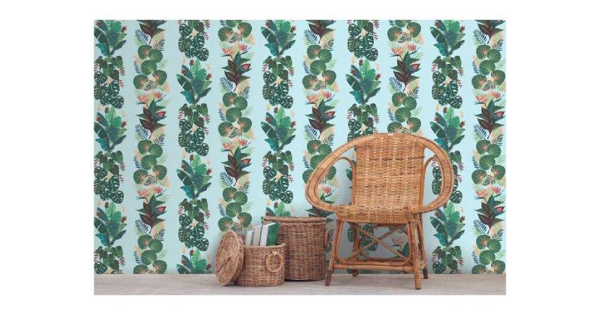 Wiosna na ścianach - modne wzory tapet Fot. Muraspec