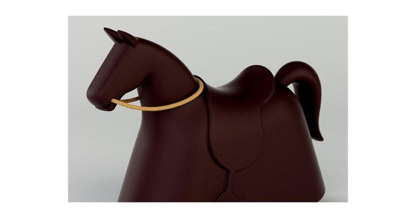 Koń na biegunach Fot. marc-newson.com