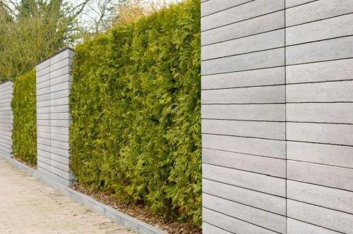 Polbruk ogrodzenie ogrodu