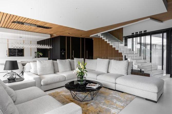 Piękny dom, niebanalne rozwiązania Fot. Projekt: Joanna Ochota, pracownia Archimental Concept JOana/Zdjęcia: Mateusz Kowalik