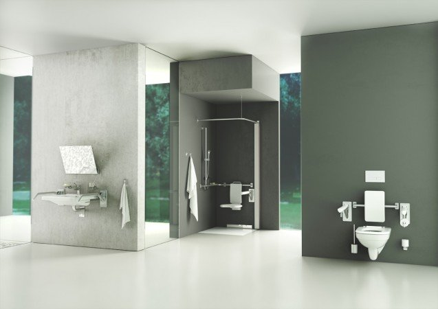 Łazienka dla osób z niepełnosprawnością