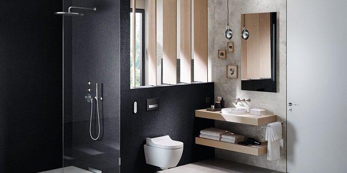 Łazienka z prysznicem - aranżacje i pomysły Fot. KOŁO Geberit
