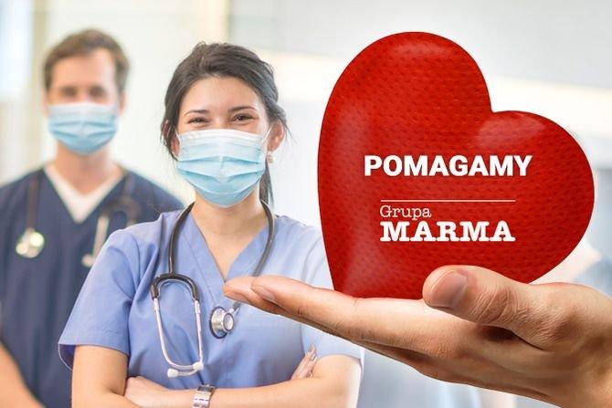 Marma Polskie Folie włączyła się do walki z pandemią Fot. Marma Polskie Folie