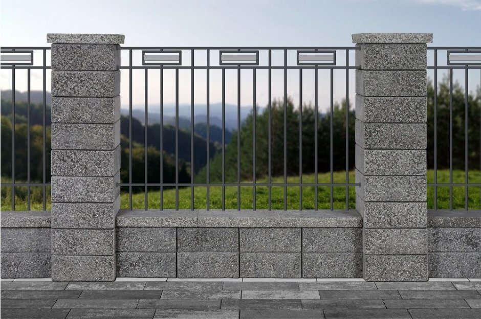 Ogrodzenia łupane GORC® Top