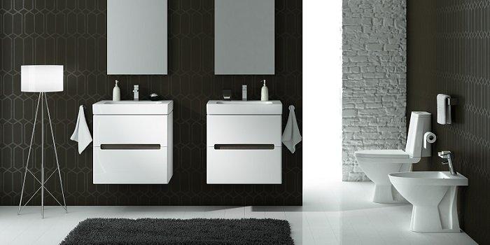 Rodzaje umywalek - którą wybrać do swojej łazienki? Fot. KOŁO