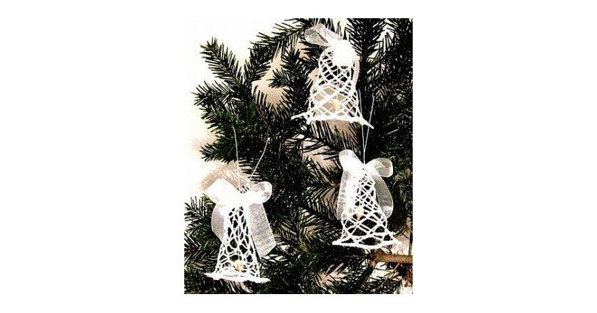 Szydełkowe dzwoneczki na choinkę Fot. Zosia Samosia