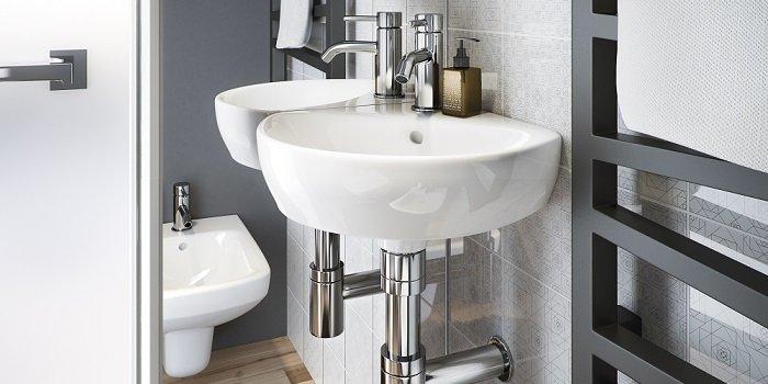 Na jakiej wysokości umieścić umywalkę? Fot. KOŁO