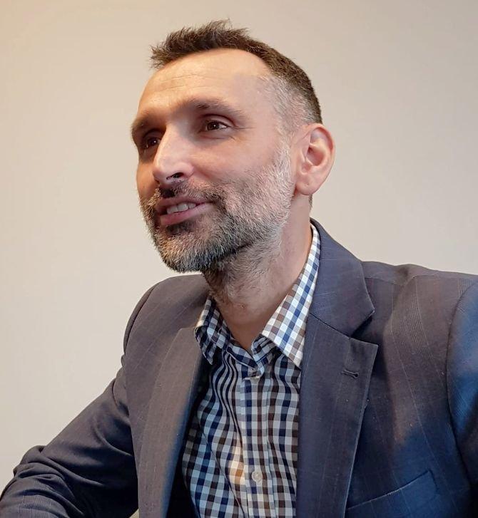 Krzysztof Kukla, dyrektor handlowy Arsanit