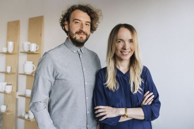 Marta Niemywska-Grynasz oraz Dawid Grynasz z Grynasz Studio