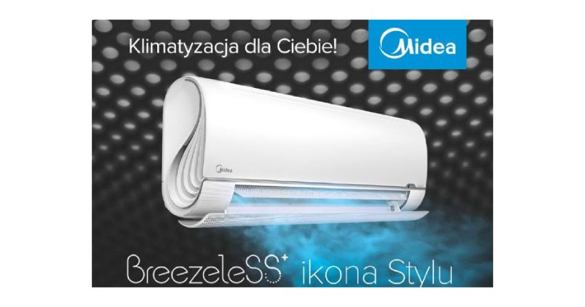 Klimatyzator Breezeless+ – delikatne chłodzenie i komfort Fot. Midea