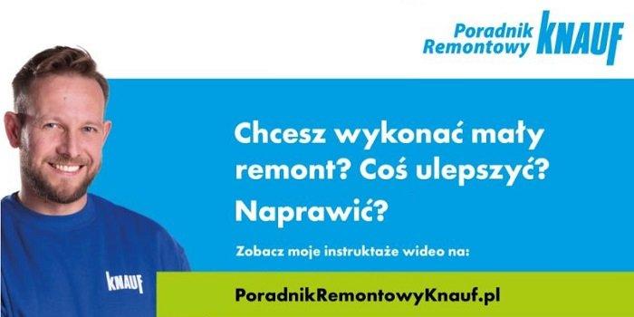 Poradnik Remontowy Knauf – nowy cykl filmów instruktażowych DIY
