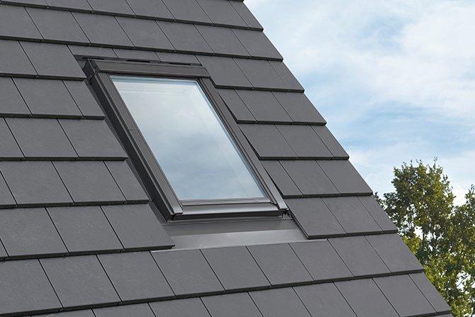 Modny dach z nowym kołnierzem Fot. Velux